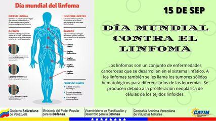15 DE SEPTIEMBRE DÍA MUNDIAL CONTRA EL LINFOMA