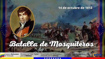 14 DE OCTUBRE 1813 BATALLA DE MOSQUITEROS
